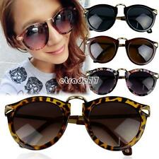 Unisex Pop 4 Styles UV400 Retro Arrow Decor Plate Frames Sunglasses Glasses EA77