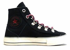 Converse Ct Leather Sneaker Boot Hi Kids Childrens Trainers (632510 - W/H Box)