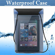 WATERPROOF CASE COVER DRY BAG POUCH FOR IPAD Mini Kindle Samsung 7 &8 INCH TABLE
