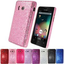 NEW HARD SPARKLING GLITTER CASE COVER FOR HUAWEI ASCEND Y300 U8833