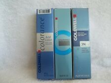 GOLDWELL COLORANCE HAIR COLOR TUBES (LEVELS 1 - 7) 2oz ~U PICK ~FREE SHIP IN US!