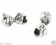 Wholesale Tibetan Silver Nice Tube Big Hole charms Spacer Beads 7*6mm