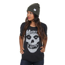 Misfits - Distressed Skull Women T-Shirt MISDOL01
