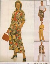 McCall's 2567 Misses' Shirt, Top, Pull-On Skirt, Pants and Shorts Sewing Pattern
