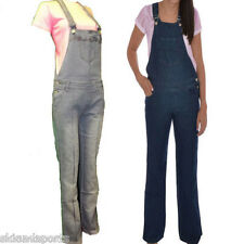 Miss Posh Dungarees Woman's Ladies Full Length Denim Jumpsuit New Superb