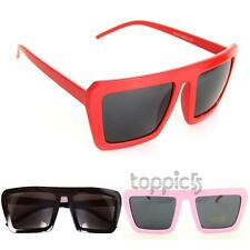 Hot Fashion Vintage Style Womens Pink/ Red/ Black Frame UV400 Goggle Sunglasses