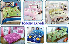 Boys/Girls Kids Toddler Duvet Covers - Exclusive Popular Designs - Cot/Cot Bed