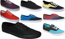 New Mens Voi Jeans Canvas Vanz Style Scent Trainers Shoes Size 6 7 8 9 10 11 12