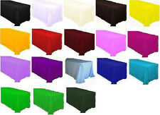 """New 70"""" and 90"""" Round Tablecloths for Wedding and Party Decorations"""