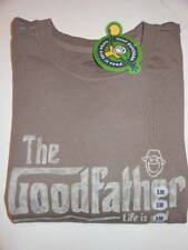 NWT LIFE IS GOOD brown Good Father Crusher T - SHIRT