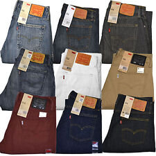 Levis 514 Jeans Straight Fit Mens Levi's Jean New 29 30 31 32 33 34 36 38 40 42