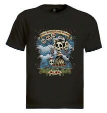 Day of the Dead T-Shirt Sugar Skull gift Tattoo Mexican Dia De Muertos Zombies