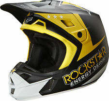 NEW 2014 FOX RACING MENS ADULT MX ATV BMX MOTOCROSS ROCKSTAR ENERGY V2 HELMET