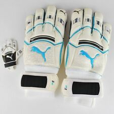 PUMA V KAT SOCCER GOALIE KEEPER GLOVE WHITE BLUE ATOLL BLACK 040363 09 T49