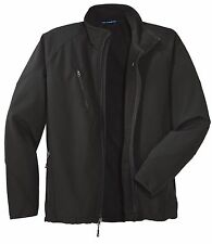 Tall Textured Soft Shell Jacket by Port Authority-TLJ705