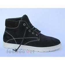 Men's Kebo 11171N navy suede casual shoes warm winter boots Made in Italy