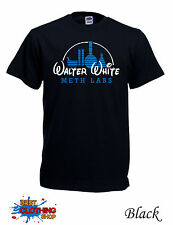 WALTER WHITE DISNEY BREAKING BAD HEISENBERG T-SHIRT S-3XL - Black