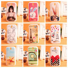 Accessory LOVELY CARTOON Hard Protection Case Cover Skin Back For HTC DESIRE SV