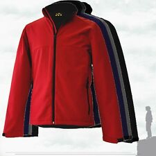 Leisure4Less - Mens Workwear Softshell Fleece Lined Jacket Windproof (4 Cols)