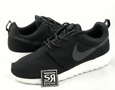 NEW Mens Nike Roshe Run Casual Shoes Black/White 511881 010