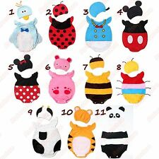 Cute Baby Fancy Dress Costumes & Hat - Boys Girls Kids - Animals & More - New