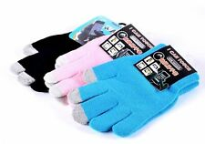Magic Touch Screen Wool Glove Smartphone iPhone iPod Texting Stretch Winter Knit