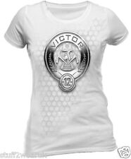 Official The Hunger Games Catching Fire ( District 12 Victor )  T Shirt  850