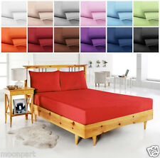 1800 SERIES EGYPTIAN COMFORT QUALITY DEEP POCKET 4 PCS BED SHEETS SET ALL COLORS