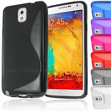 S-LINE TRANSLUCENT CLEAR TPU GEL CASE BACK COVER FOR SAMSUNG GALAXY NOTE 3 N9000
