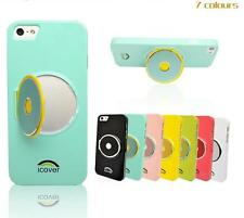 New iPhone 5 5s Hard Plastic Glossy Paint Slim Case Cover Protector Stand