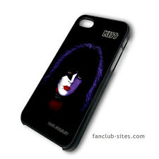 Kiss Paul Stanley Black 4 Pick iphone 4 4g 4s 5 & galaxy S3 S4 hard case cover