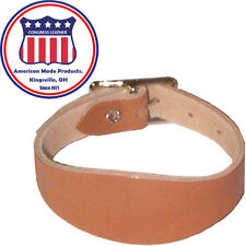 Leather Replacement Flared Saddle Stirrup Hobble Straps