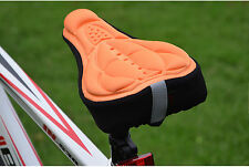 Multicolor Anti-slip Durable Bicycle Cycling Soft Cushion Pad Seat Saddle Cover