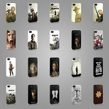 THE WALKING DEAD RICK ZOMBIES CASE HARD COVER FOR iPHONE OR SAMSUNG TV SERIE