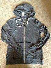 NWT Aeropostale Men's Solid Jersey Full-Zip Up Hoodie Lightweight Brand New Fall