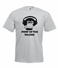 PUMP UP VOLUME dubstep music NEW Boy Girls Kids size T SHIRTS TOP Age 1-15 Years