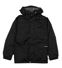 Volcom Snow PROFILE INSULATED Snowboard Ski JACKET Black AUTHENTIC Mens NEW 2014