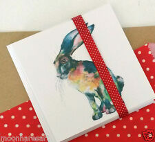 Hare Painting Gift Cards Greetings Thank You Cards Frm Originals By Moon Hares