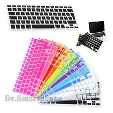 "POUR MACBOOK PRO 13"" 15"" 17"" AIR 13"" PROTECTION CLAVIER SILICONE AZERTY / QWERTY"