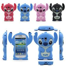 3D Stitch Soft Silicone Case Cover Skin For Samsung Galaxy S/ Trend Duos S7562