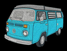 VW Combi Campervan Embroidered & Personalised Clothing