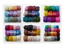 Felting Wool - Choose the Mix Pack and Quanitity - Merino Roving / Combed Tops