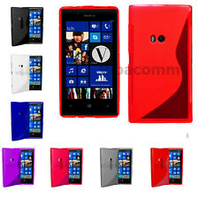 Nokia Lumia 620 Grip Series S-Line Jelly Case Cover With Grip + Screen protector