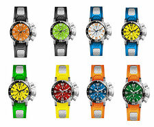New Invicta Corduba GMT Day and Date Sporty Mens Watch in Varied Color Combos