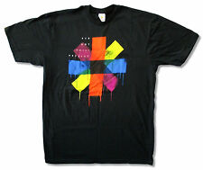 "RED HOT CHILI PEPPERS ""DRIP STRIPS"" BLACK T SHIRT NEW OFFICIAL ADULT"