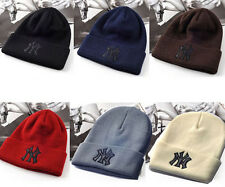 Hot Fashion Unisex Men Women's Yankees NY Hip-Hop Beanie Knitted Hats 6 Colors