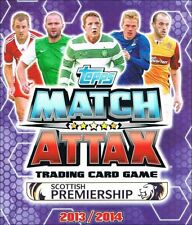 Match Attax SPL Scottish Premiership 2013/2014 13/14: Full Team Sets of 18 cards