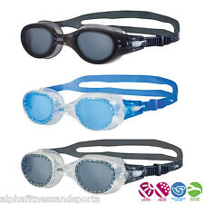 Zoggs Phantom Tinted Swim Antifog Soft Seal Goggles Silicone Swimming Pool New