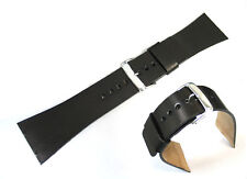 Genuine Leather Watch Strap / Band Replacement for Skagen 396LTMLN, 396LTMLD