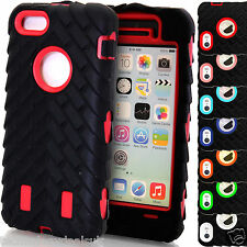 Tyre Pattern Builder Hard Silicone Shock Proof Cover for Apple iPhone 5 5S 5C